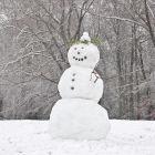 Как слепить снеговика