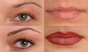 Как используют перманентный макияж