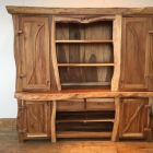 Мебель из массива для ванной комнаты: преимущества конструкций, особенности выбора, советы по обустройству