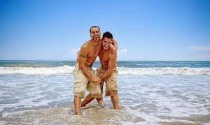 Как раскусить мужчину на пляже
