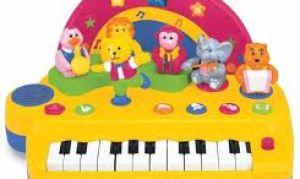 Как выбрать музыкальные игрушки для маленьких детей