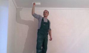 Как правильно штукатурить потолок своими руками