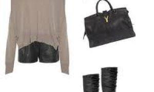Как выбрать кожаную одежду для модниц