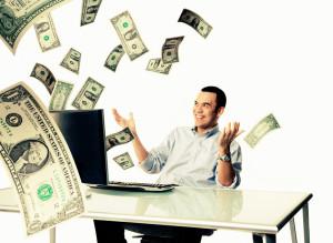 Работа с деньгами через Интернет