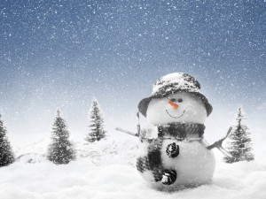 Образ снеговика