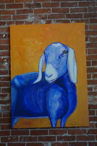 Синяя коза - символ 2015 года