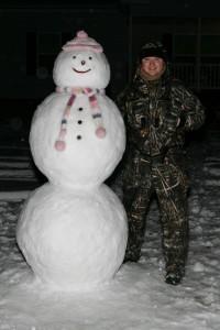 Внешний вид Снеговика