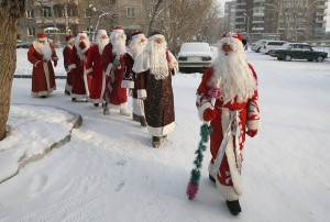 Костюмы дедушек Морозов