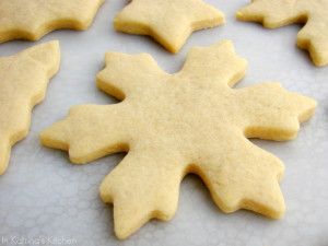 """Печенье в форме """"Снежинка"""""""