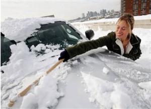 Сложности с машиной зимой
