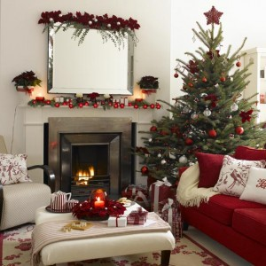 Украшение дома в Новый год