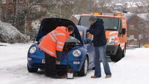 Автопомощь в мороз