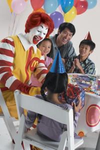 День рождения в МакДональдсе