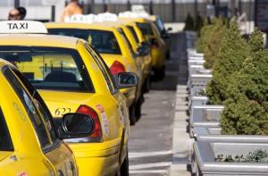 Новогоднее такси