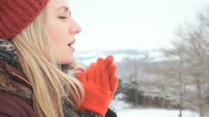 Замёрзли руки