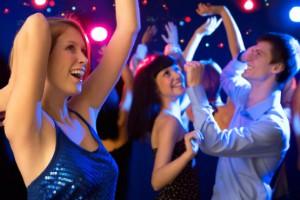 Новогодние танцы