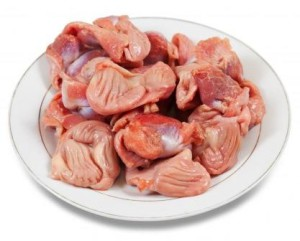 Очищенные куриные желудки