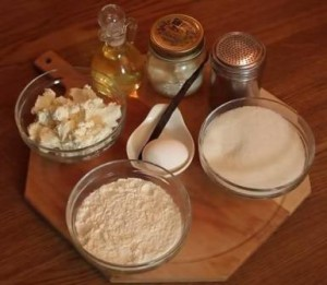Ингредиенты для сырников