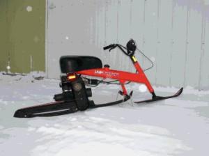 ак сделать снегоход своими руками