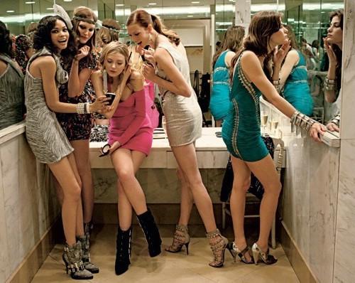 Девушки и их наряды