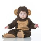 Малыш в костюме обезьянки