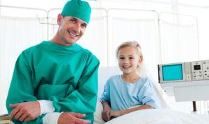Лечение и консультация у детского хирурга