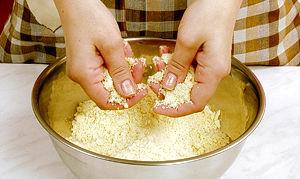 Как приготовить песочное тесто.