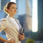 Официальные деловой стиль в женской одежде