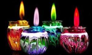 Как украсить свадьбу свечами: советы