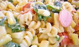 Как приготовить макаронный салат.