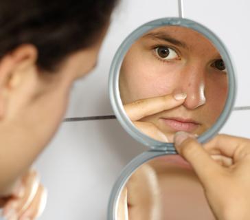 лечение черных точек на лице препараты