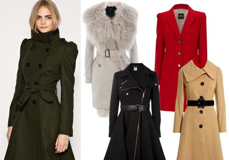 Модные женские пальто 2012 модные дома