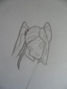 Как рисовать Винкс карандашом поэтапно
