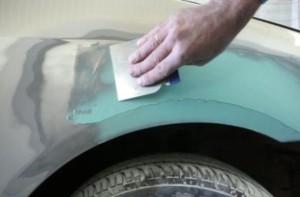 Как шпаклевать машину