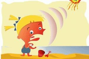Как не сгореть летом на пляже.