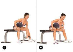 Упражнение для мышц груди и рук