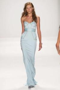 Голубое платье на Новы год 2015