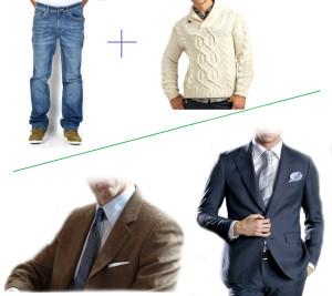 Новогодний наряд для мужчин