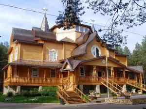 Дом Деда Мороза летом