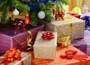 Подарки новогодние в упаковке