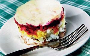 Порционный салатик