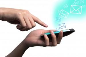 Отправка СМС о восстановлении страницы