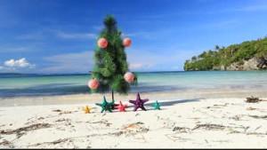 Новый год в тёплой стране у моря