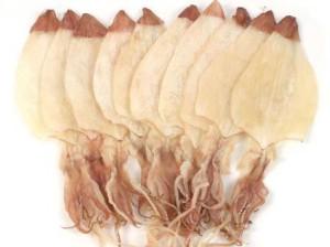 Сушеные кальмары