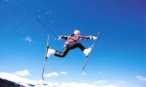 Новый год в горах на лыжах