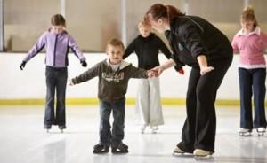Уроки катанию на коньках