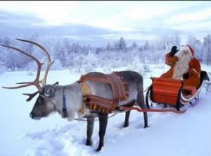 В Финляндии у Деда Мороза