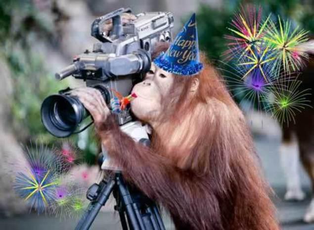 Новый год 2016 — год Огненной обезьяны