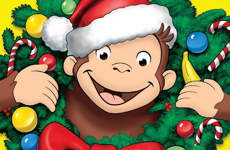 Милая обезьянка готовит сюрприз