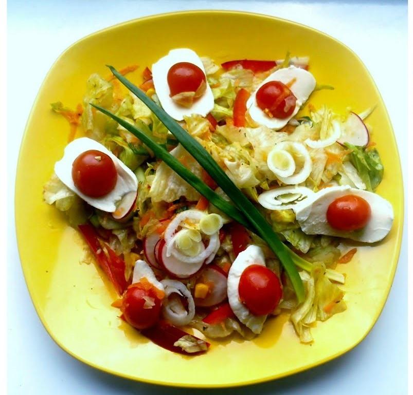 Вкусный и красивый салат